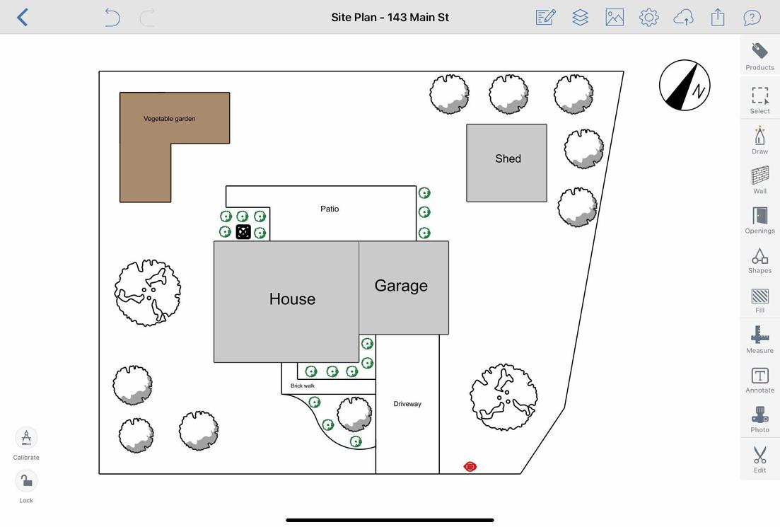 Site Plan in ArcSite-1